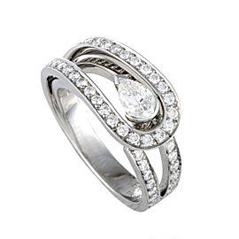 Fred Of Paris Platinum Diamond Engagement Ring
