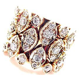Cartier Diadea 18k Yellow Gold Mobile Diamond Ring Size 52 Cert.
