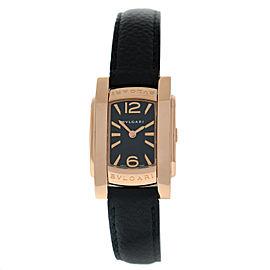 Bvlgari Bulgari Assioma AAP31G Ladies 18K Rose Gold Steel Quartz 22MM Watch