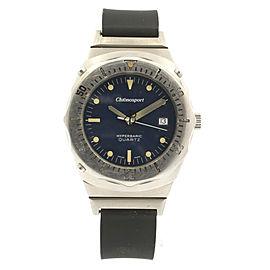 Breitling Superocean Deep Sea Super Compressor Quartz Steel Watch Ref: 81190
