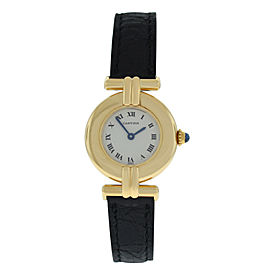 Cartier Colisee 5417 Ladies 18K Solid Rose Gold 24MM Quartz Watch