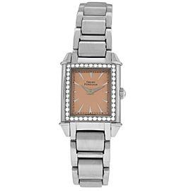Girard Perregaux Vintage 2592 Steel Diamond Quartz 23MM Watch