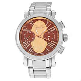Tourneau Gotham Aztec AZTEC-BR-BICOM Unisex Chronograph 41MM Automatic Watch
