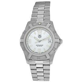 Tag Heuer 2000 WN1111.BA0311 Men's Midsize 200M Steel Date Quartz 37MM Watch