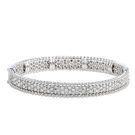 Odelia 18K White Gold Diamond Bracelet