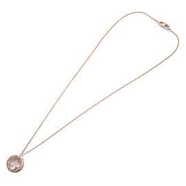Auth Louis Vuitton Pendentif Empreinte Diamond Necklace