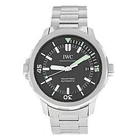 IWC Schaffhausen Aquatimer IW3290-02 Mens Steel Date 44MM Automatic Watch