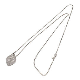 Authentic Tiffany&Co. Return to Tiffany Heart Tag Long Necklace
