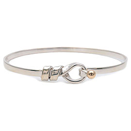Authentic Tiffany&Co. Flat Wire Bangle