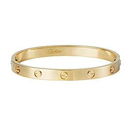 CARTIER Love 18kt Yellow Gold Love Bangle Bracelet