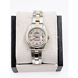 Rolex Ladies Datejust 69173 Jubilee Dial 18K Yellow Gold Stainless Box Booklets