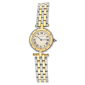 Cartier Panthere Vendome 1057920 Ladies Steel 18K Gold Quartz 23MM Watch