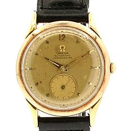 Omega Centenary 18K Yellow Gold Automatic Chronometre 35mm Watch