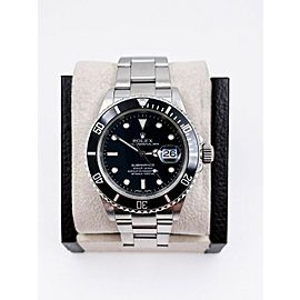 Rolex Submariner 16610 Black Dial Stainless Steel 2005