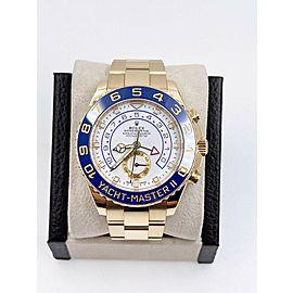 Rolex 116688 Yacht Master II Blue Ceramic 18K Yellow Gold Hands 2019