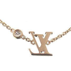 Auth Louis Vuitton Pendentif Idylle Blossom Diamond Necklace Q93626 Used F/S