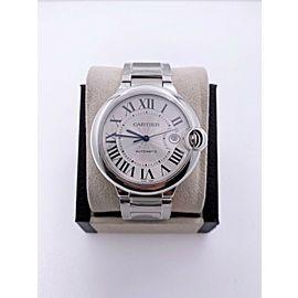 BRAND NEW Cartier Ballon Bleu W69012Z4 Stainless Steel Watch Box Papers