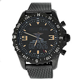 Breitling Chronospace Military M7836622-BD39 Chronometer Steel Quartz 48MM Watch