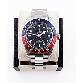Tudor Black Bay GMT 79830 Pepsi Bezel Stainless Steel
