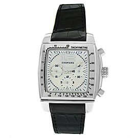 Chopard Two O Ten 8462 Steel MOP Chronograph Date Automatic 40MM Watch