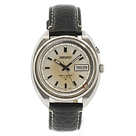 SEIKO Bell-matic Alarm DAY-DATE Stainless 38mm Auto Men's Watch Ref: 4006-7020