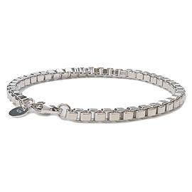 Tiffany&Co. Venetian Link Bracelet Silver 925 Used F/S