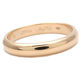 Authentic Cartier Wedding Ring K18 Yellow Gold #56 US7.5-8 HK17 EU56 Used F/S