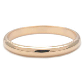 Authentic Cartier Wedding Ring K18 750 Yellow Gold #56 US7.5 HK17 EU56 Used F/S