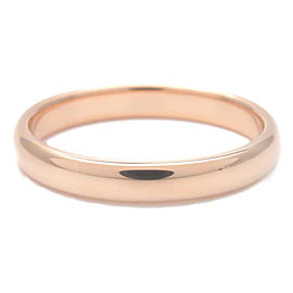Authentic Tiffany&Co. Notes Band Ring K18PG Rose Gold US6 HK13 EU52 Used F/S