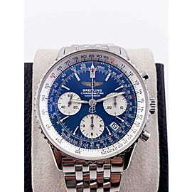 Breitling Navitimer A23322 Blue Dial Stainless Steel