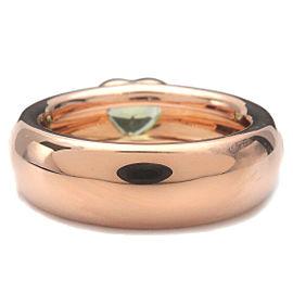Authentic Tiffany&Co. Friendship Ring Peridot Rose Gold US5.5 HK12 EU51 Used F/S