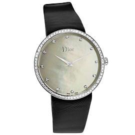 Christian Dior La D de Dior CD043114A001 Ladies MOP Diamond 38MM Quartz Watch