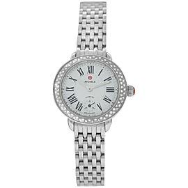 Michele Serein MW21E01A1025 Ladies Diamond MOP Stainless Steel 29MM Quartz Watch