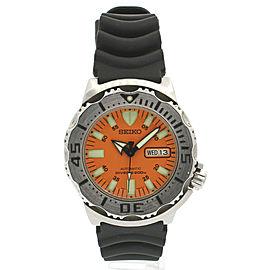 SEIKO Orange Monster Diver's 200M Automatic 43mm Men's Watch 7S26-0350