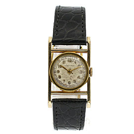 Vintage Longines 10k Gold Filled Hand Wind Art Deco Ladies Watch