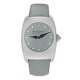 Pasquale Bruni PBU 001 AC BD Stainless Steel Diamond Quartz 29MM Watch