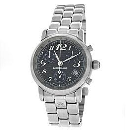 Montblanc Meisterstuck Star 7038 Steel Chronograph Date Quartz Unisex 36MM Watch