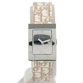 Authentic Christian Dior Maris Square Ladies Watch Wristwatch D78-1092 Used F/S