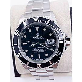 Rolex Submariner 16610 Black Dial Stainless Steel