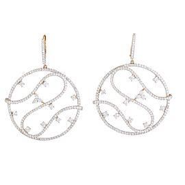 Piero Milano 18K Rose Gold Diamond Earrings