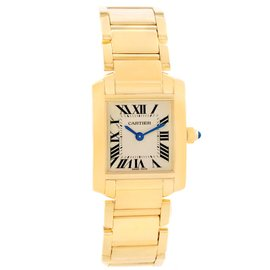 Cartier Tank Francaise W50002N2 20mm Womens Watch