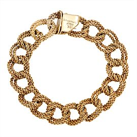 Tiffany & Co. 18K Yellow Gold Large Link Bracelet