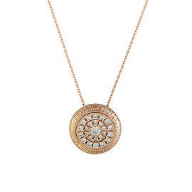 Odelia 18K Rose Gold Diamond Pendant