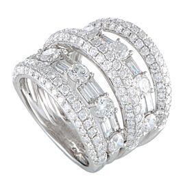 Odelia 18K White Gold Diamond Ring