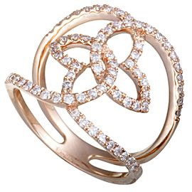Odelia 18K Rose Gold Diamond Ring