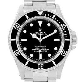 Rolex Submariner 14060 40mm Mens Watch