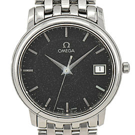 OMEGA Deville Prestige black Dial Quartz Men's Watch