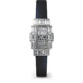 Vacheron Constantin Metiers d'Art 17710000G-7393 18K White Gold & Satin and Diamond 19.61 mm Womens Watch