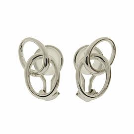 Tiffany & Co. Silver Double loop Earring