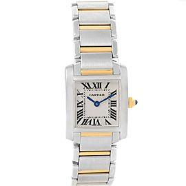 Cartier Tank Francaise W51007Q4 20.0mm Womens Watch